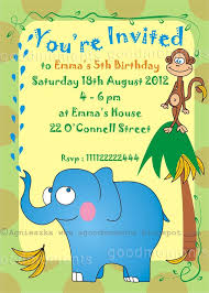 Kids Birthday Party Invitations - hollowwoodmusic.com