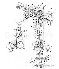 Manual 3 0 liter v6 array carburetor u0026 fuel pump group 120140 u0026 165 hp stern drive 1976 omc rh