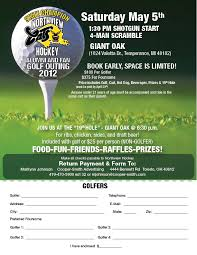 2012 Northview Golf Outing Signup Flyer Lo