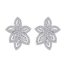 mecresh Luxury Cubic Zirconia Chandelier Teardrop ... - Amazon.com