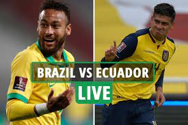 The soccer teams brazil and ecuador played 10 games up to today. C4gbv9 Ljqsi0m