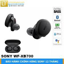 Tai nghe Bluetooth Sony Extra Bass WF-XB700 -Hàng chính hãng - Bảo hành  chính hãng Sony 12 tháng toàn quốc