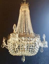 crystal corner antique chandeliers