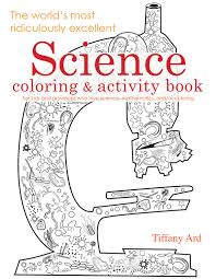 Small Picture Coloring Book for Young Scientists