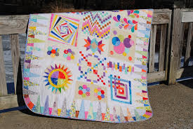 Block of the Month ~ Scrap Happy Sampler - & Here are the quilt details: Adamdwight.com