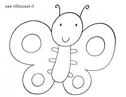 Disegni Da Colorare Categoria Animali Immagine Farfalla