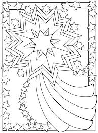 Small Picture Shooting Star Coloring Page Coloring Home