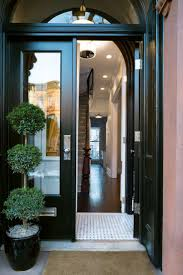 Full Image for Trendy Colors Front Door Vestibule 107 Front Door Vestibule  Park Slope Brownstone Black ...
