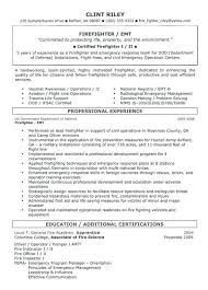 Firefighter Resume Templates Awesome Firefighter Resume Templates Firefighter Paramedic Resume Templates