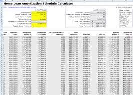 010 Excel Amortization Schedule Template Loan Ideas Free