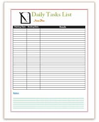 Student Daily Planner Daily Task Planner Template