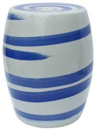 blue and white porcelain brush stroke