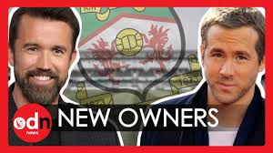 Deadpool actor ryan reynolds and always sunny in philadelphia creator rob mcelhenney have taken 100% control of the welsh club from the wrexham supporters trust (wst), months after the bid was approved by fans. Ryan Reynolds And Rob Mcelhenney Buy Wrexham Football Club Youtube