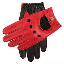 dents men s waverley two tone leather driving gloves berry black