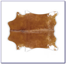 small tricolor brazilian cowhide rug 212 31 sq ft natural