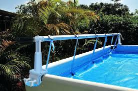 above ground solar cover reel aquasplash pool