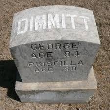 Priscilla Stephens Dimmitt (1826-1905) - Find A Grave Memorial