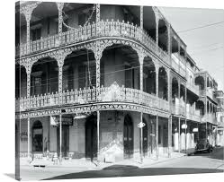 outstanding new orleans wall art a view of the cast iron lacework balconies house map on map of new orleans wall art with outstanding new orleans wall art a view of the cast iron lacework