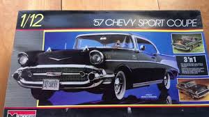 Monogram 1:12 1957 Chevy Super Sport - YouTube