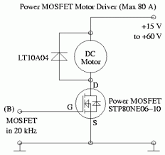some power pwm drivers for electric dc motors power mosfet pwm motor driver