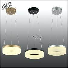 small chandelier lights chandeliers led round ring light fixture 8 inch small led modern office dinning room hanging