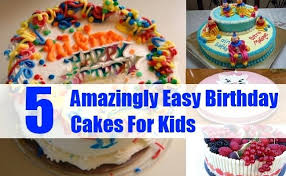 Simple Birthday Cake Ideas For Kids Cool Cakes Easter