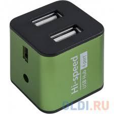 <b>Концентратор USB</b> 2.0 <b>Defender QUADRO</b> IRON — купить по ...