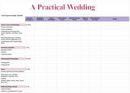Sample Wedding Budget Spreadsheet Best Of Spreadsheet Templates 4 ...