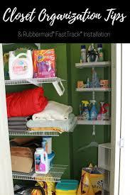 closet organization tips installing