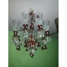 modern green crystal chandelier