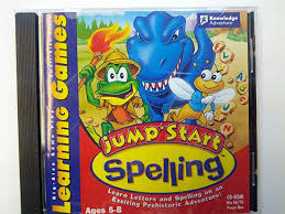 jumpstart learning games spelling ages 5 8 cd rom