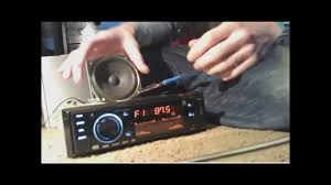 hook up a car stereo in your house without psu (easiest way) youtube  at How To Hook Up A Car Stereo Without Wire Harness