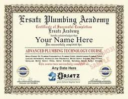 Диплом сантехника Академия курс сертификат на заказ с Вашим  Диплом сантехника Академия курс сертификат на заказ с Вашим именем и дата реквизит