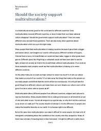 multiculturalism essay multiculturalism essays