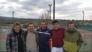l équipe de 4e série du tennis club de narbonne plage