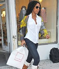 spoilt little girl kelly rowland was spotted shopping at lucky wang in new york beyonce baby nursery