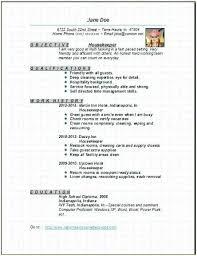 Hospital Housekeeping Resume Examples - Examples of Resumes