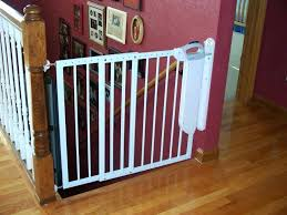 Banister To Wall Baby Gate Image Of Baby Gate For Stairs With ...