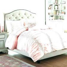 creative design pink and gold duvet cover charming rose bedding set sets grey