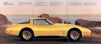 GM 1979 Chevrolet Corvette Sales Brochure