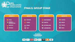 Groups set for eEURO finals | UEFA EURO 2020
