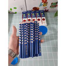 Bán lẻ 1 chiếc bút chì gỗ HB cho bé tập viết