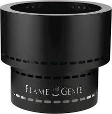 Flame Genie Inferno Wood Pellet Fire Pit Black Fg 19 Best Buy