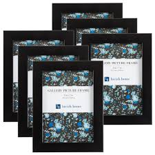 black picture frame 6 pack