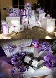 Lavender Baby Shower Decorations Lavender Black And White Baby Shower The Celebration Society