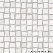 Cushion Floor Vinyl Kitchen Flooring White Amp Silver Mosaic Tile Vinyl Flooring Slip Resistant Lino
