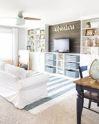 playroom storage furniture. eclectic farmhouse playroom makeover blesserhousecom a boring and cluttered gets storage furniture