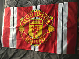 Author of flags and arms man fell under the rule of england in 1341. Manchester United International Club Soccer Fan Flags For Sale Ebay
