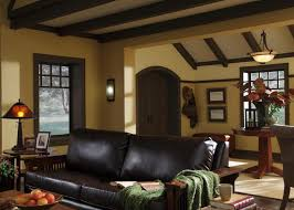 craftsman bungalow living room design