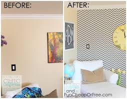 diy faux wallpaper using starch fabric